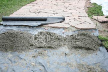 Дренажные и канализационные трубы, геотекстиль