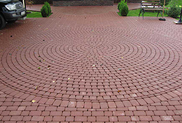 Мощение садовых дорожек, парковок, площадок в Рыбинске и Ярославской области