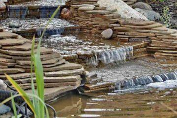 Устройство водоемов, ручьев, водопадов